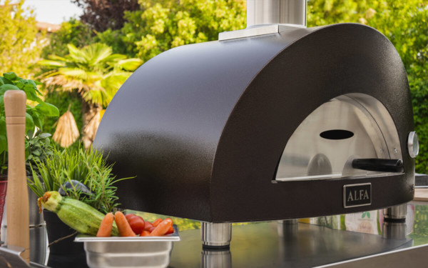 pizza oven outdoor kitchen alfa forni one
