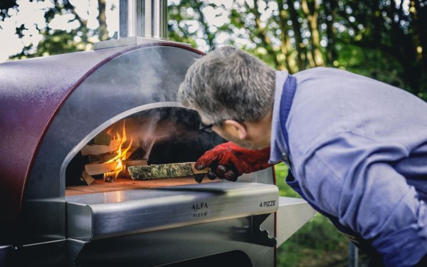 pizze alfa forni the stainless steel dome enables it to reach operating temperature quickly x