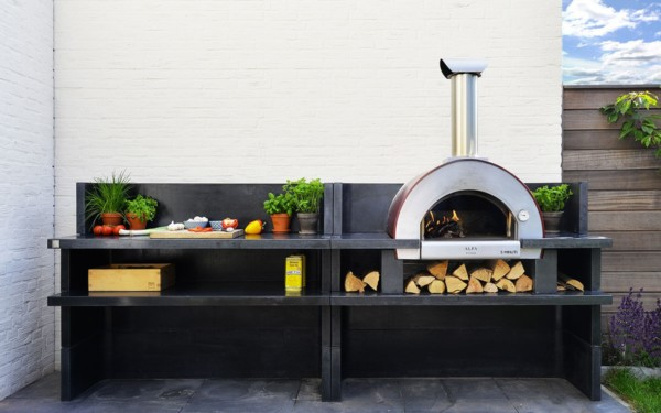 minuti outdoor kitchen it is the best selling wood fired pizza oven x