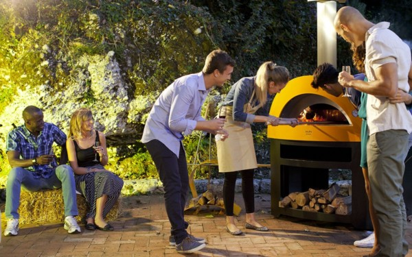 allegro yellow color with baseoutdoor cooking x