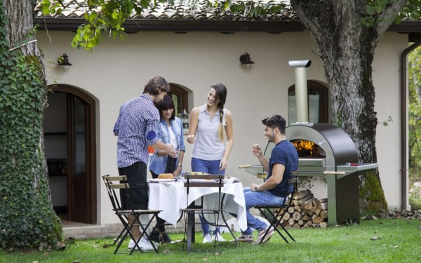 wood fired oven outdoor garden pizze alfa forni x