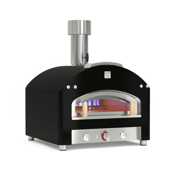 gas fired oven piazza