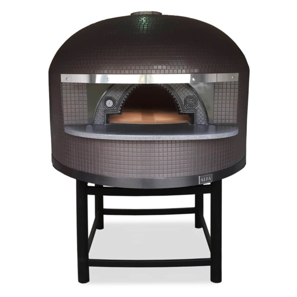 napoli commercial refractory pizza oven brown